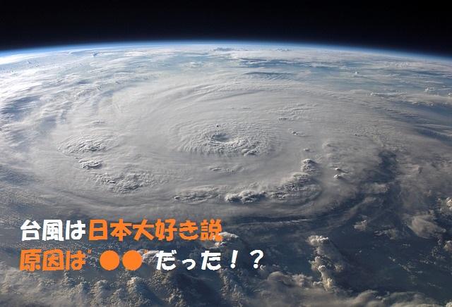 台風の進行方向と発生場所について【台風は日本の事大好き説】