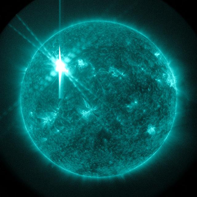 太陽フレアX等級
