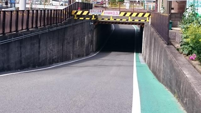 冠水道路の確認方法